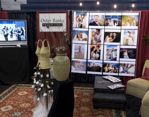 Outer Banks Productions Wedding Expo Booth
