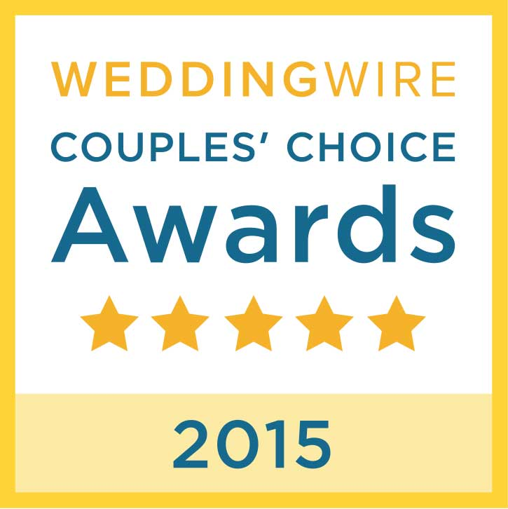 2015 Wedding Wire Award